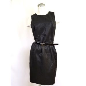 Michael Kors Size 8 Black Sleeveless Dress